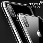 TOTU iPhoneX玻璃手機殼防摔殼 晶盾系列