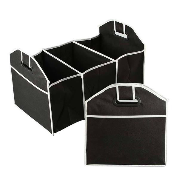 「指定超商299免運」汽車後備箱 整理箱 儲物箱 置物箱 可折疊 車用(薄款)【G0008-2】