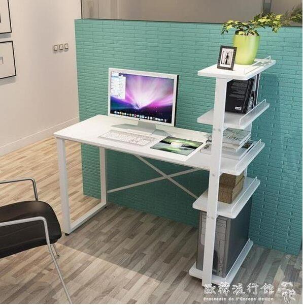 新貨快出     90cm暖白色五層組裝電腦桌   限時下殺6折    全網最低價      歐韓流行館
