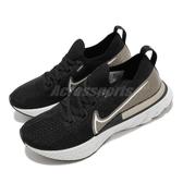 Nike 慢跑鞋 Wmns NK React Infinity Run FK PRM 黑 金 女鞋 運動鞋 【ACS】 CZ2861-001