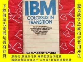 二手書博民逛書店IBM罕見Colossus in transition (轉型中