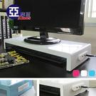 馬卡龍高載重鐵板多功能置物架(USB+擴充電源插座)白 Amos【LBW001】