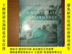 二手書博民逛書店Takeovers,罕見Restructuring, and Corporate Governance (3rd