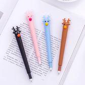 【04588】快樂麋鹿中性筆 針管筆 0.35mm 黑色 原子筆 可愛文具 聖誕節