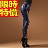 羽絨褲 俐落新款-雙面羽絨保暖修身女休閒長褲2色64q24【巴黎精品】