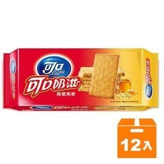 可口奶滋蜂蜜燕麥口味(一條裝)137.5g(12入)/箱【康鄰超市】