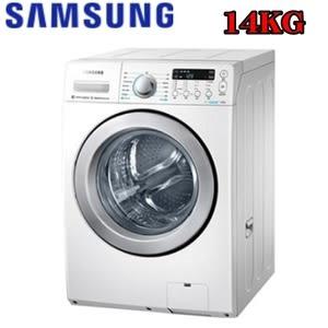 【三星】 14公斤變頻滾筒洗脫烘洗衣機 WD14F5K5ASW/TW