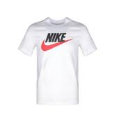 NIKE服飾系列-AS M NSW TEE ICON FUTURA 男款黑紅LOGO白色上衣-NO.AR5005100