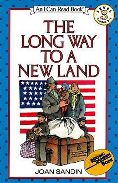 (二手書)An I Can Read Book Level 3: Long Way to a New Land