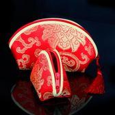 創意結婚禮物喜糖盒子中國風喜糖袋包裝