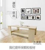 茶几 定製簡約現代客廳邊几家具儲物簡易雙層木質小小戶型桌子T 3色