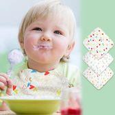 【雙十二】秒殺嬰幼兒口水巾棉三角巾棉紗布 嬰兒方巾圍嘴3條裝gogo購