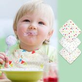 [gogo購]嬰幼兒口水巾棉三角巾棉紗布嬰兒方巾