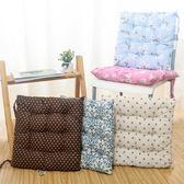 棉麻冬天天透氣日式坐墊 榻榻米辦公室加厚凳子坐墊椅子椅墊屁墊WY