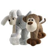 寵物玩具狗狗貓咪亞麻發聲陪伴玩具泰迪貴賓雪納瑞小型犬類玩具【明天恢復原價】