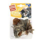 貓用玩具 gigwi逗貓棒羽毛幼貓用品貴為寵物小貓咪的玩具磨牙髮泄仿真小鳥 曼慕衣櫃