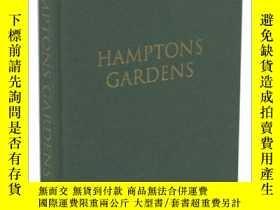 二手書博民逛書店Hamptons罕見Gardens: Jack deLashme