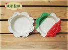 ~佐和陶瓷餐具~【XL050327-6花形耐熱烤皿-日本製】/ 烤盤 點心盤 烤鬆餅 造型盤 /