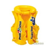 INTEX兒童救生衣浮力背心寶寶游泳裝備手臂泳圈水上馬甲漂流泳衣「時尚彩虹屋」