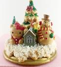【震撼精品百貨】Hello Kitty 凱蒂貓~聖誕擺飾-聖誕樹-kitty圖案-雪人