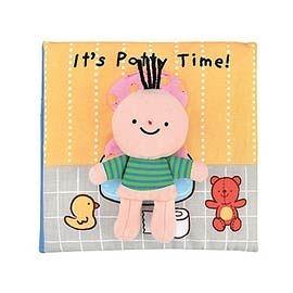 便便時間到囉!It's Potty Time (英文布書)