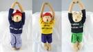 【震撼精品百貨】日本泰迪熊~門把吊飾『藍/黃/綠』(共3款)