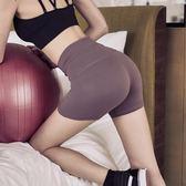 運動短褲 運動短褲女跑步速乾緊身高腰彈力外穿防走光夏季瑜伽健身房五分褲 MKS免運