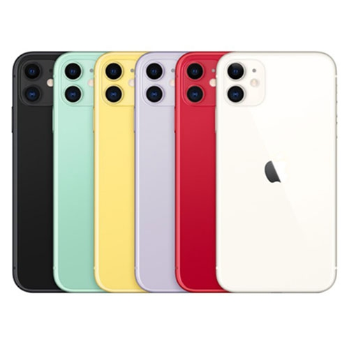 Apple iPhone 11 64G(黑/白/紅/黃/紫/綠)【2020年版】【愛買】