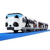 日本PLARAIL鐵道王國 S-24 287熊貓列車TP11228 TAKARA TOMY