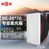 攝影燈 柔光箱250w攝影燈閃光燈柔光罩補光燈箱攝影器材 CP2337【野之旅】