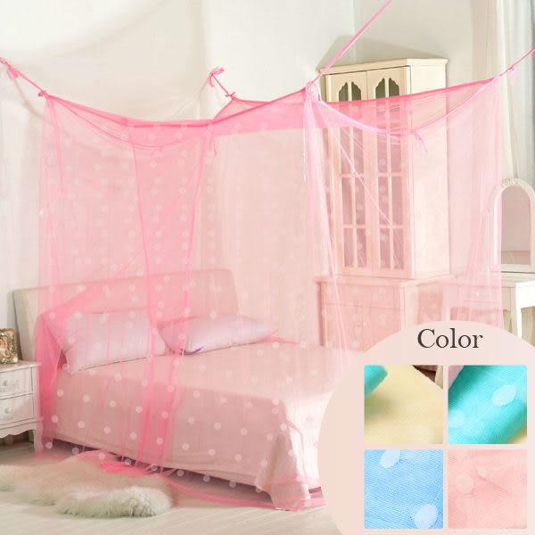 R.Q.POLO《傳統四方蚊帳》6X9尺高6尺-防蚊最佳選擇讓您夜夜好眠~