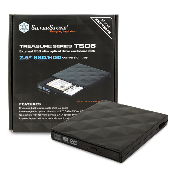 "UPTECH 登昌恆 代理 SST-TS06 Slim SSD/HDD 擴充套件 支援2.5"" SSD或硬碟"