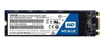 WD 藍標 BLUE 250GB M.2 2280 SATA SSD