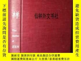 二手書博民逛書店【罕見】1964年 The Matter Of Zen: A B