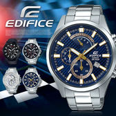 EDIFICE 高科技智慧工藝結晶賽車錶 EFV-530D-2A EFV-530D-2AVUDF