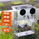 孔雀魚孵化盒雙層自浮式孵化器 幼魚繁殖亞...