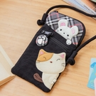 Kiro貓與老鼠 拉鍊 拼布包/3C收納...