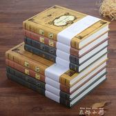 歐式超厚復古魔法書筆記本文具創意A5加厚記事本日記本子古典禮品 【米娜小鋪】