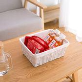 水果儲物筐收納籃浴室收納盒廚房桌面雜物書籍【極簡生活館】