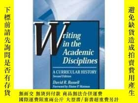 二手書博民逛書店Writing罕見In The Academic Discipl