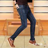 直筒牛仔褲男士牛仔褲秋冬款直筒寬鬆褲子男冬季休閒褲正韓潮流新品男款