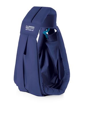 英國 WMM Soohu / Smile 舒服5式親密揹巾 輕盈版 深藍色