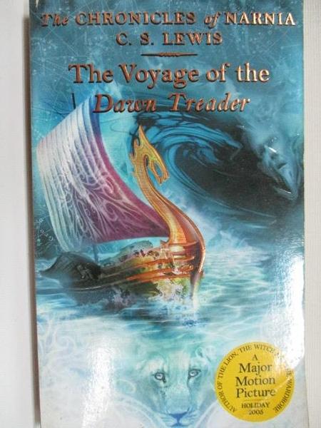 【書寶二手書T6/原文小說_A9K】The Voyage of the Dawn Treader