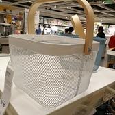 瑞沙托 籃子購物籃 水果籃 收納籃 菜籃子 雜物籃盒子筐子 WD 一米陽光