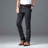 男牛仔長褲 韓版男褲子 夏季新款彈力商務修身彈性大碼潮流男裝單寧牛仔褲直筒cs1084