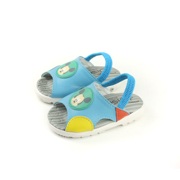 Disney 迪士尼 米奇 涼鞋 淺藍色 小童 D118126 no094
