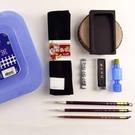 【我愛中華筆莊】國品寶盒 大(藍色) 30.8x22.7cm 初學者文房用品 學生書法組合 - 台灣品牌