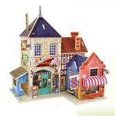 全館免運八九折促銷-創意diy小屋手工拼裝小房子模型建築別墅模型屋女生兒童娃娃玩具