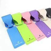 《J 精選》典雅時尚人造皮革行李吊牌