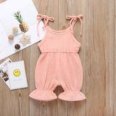 外貿童裝ins爆款夏季新款寶寶連體褲可愛嬰幼兒吊帶連身衣爬爬服